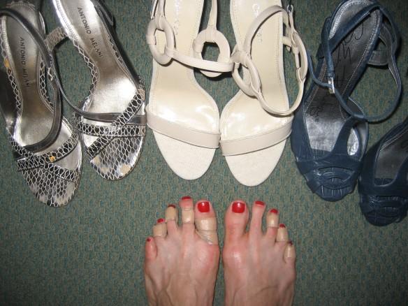 bandaid feet