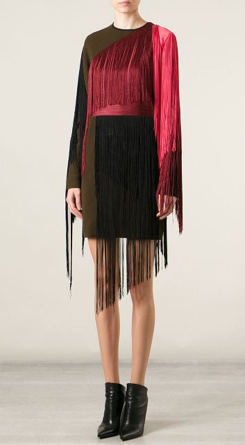 Lanvin FRinge Dress